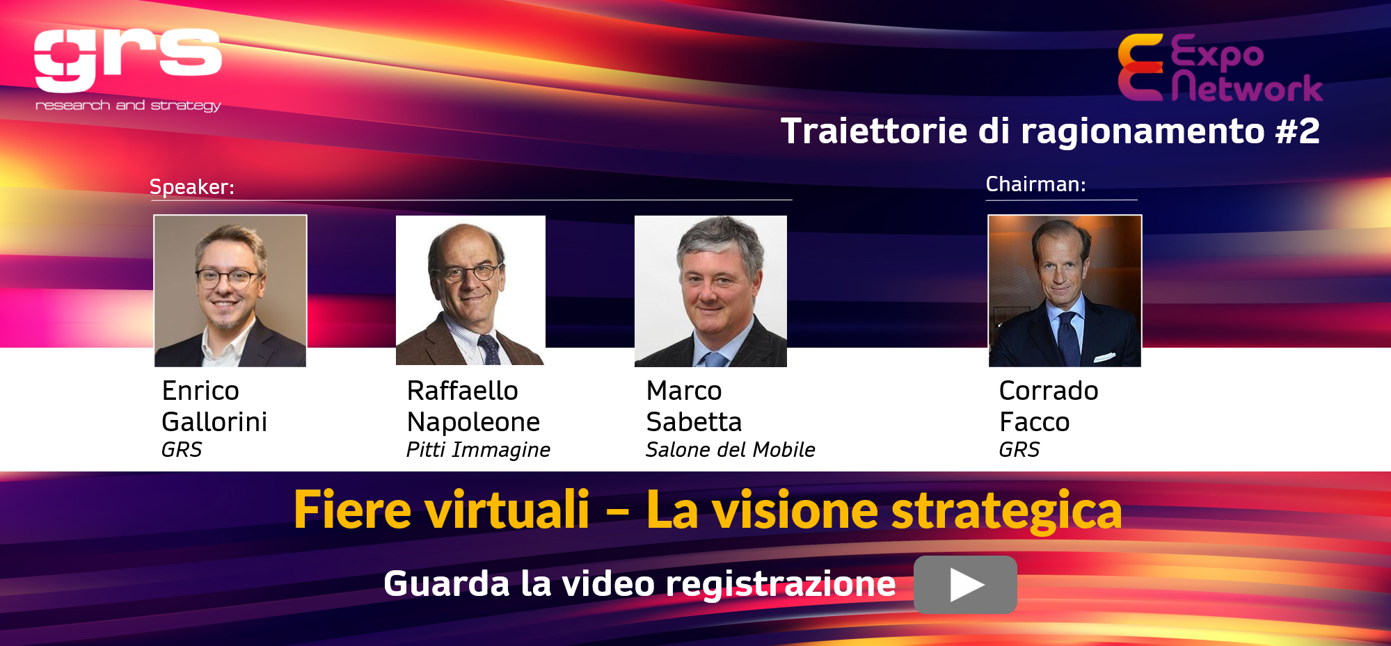La visione strategica delle fiere virtuali: conclusioni sul web meeting